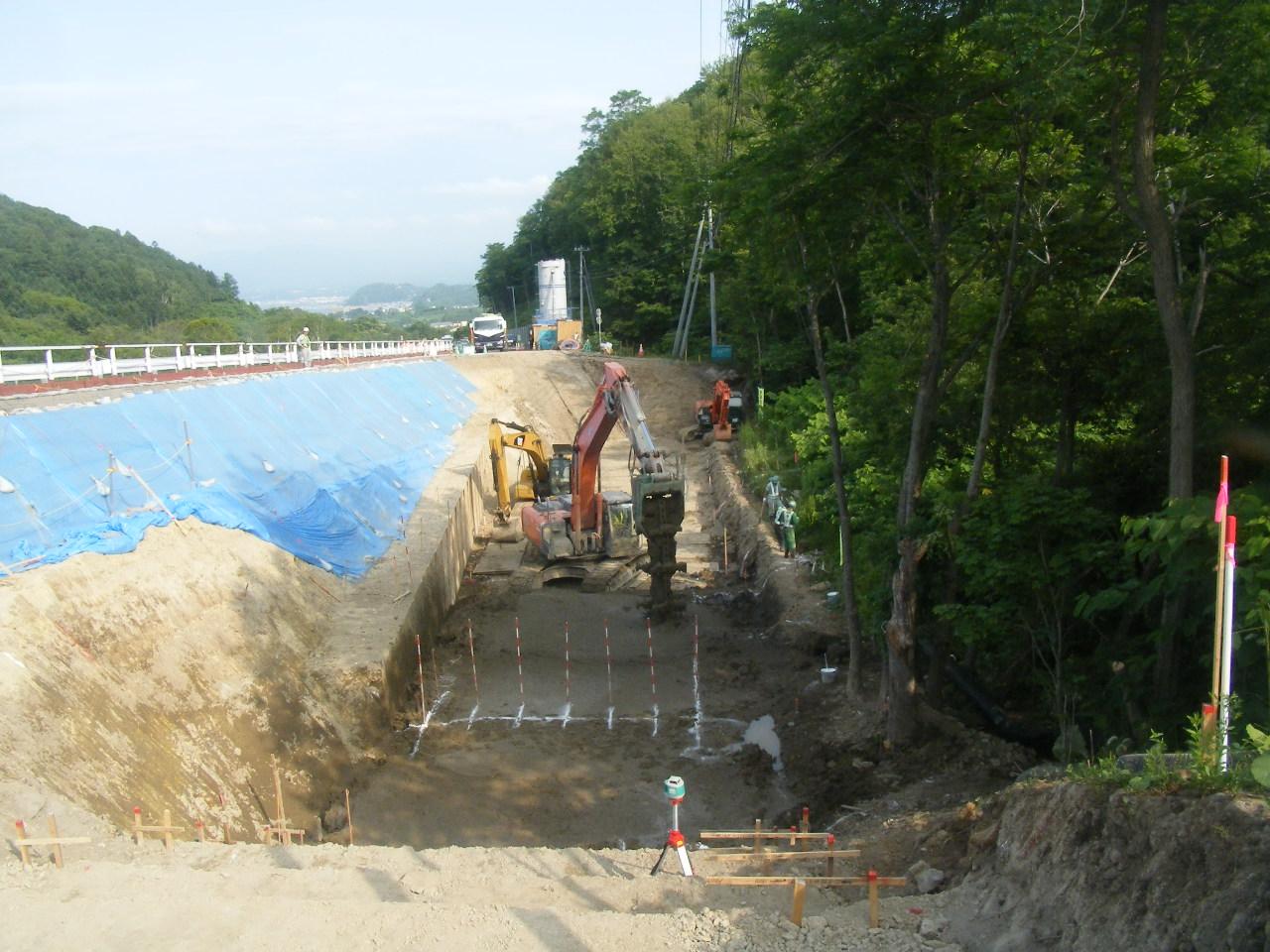 一般国道229号 余市町 梅川町登坂車線設置工事(小樽開発建設部)