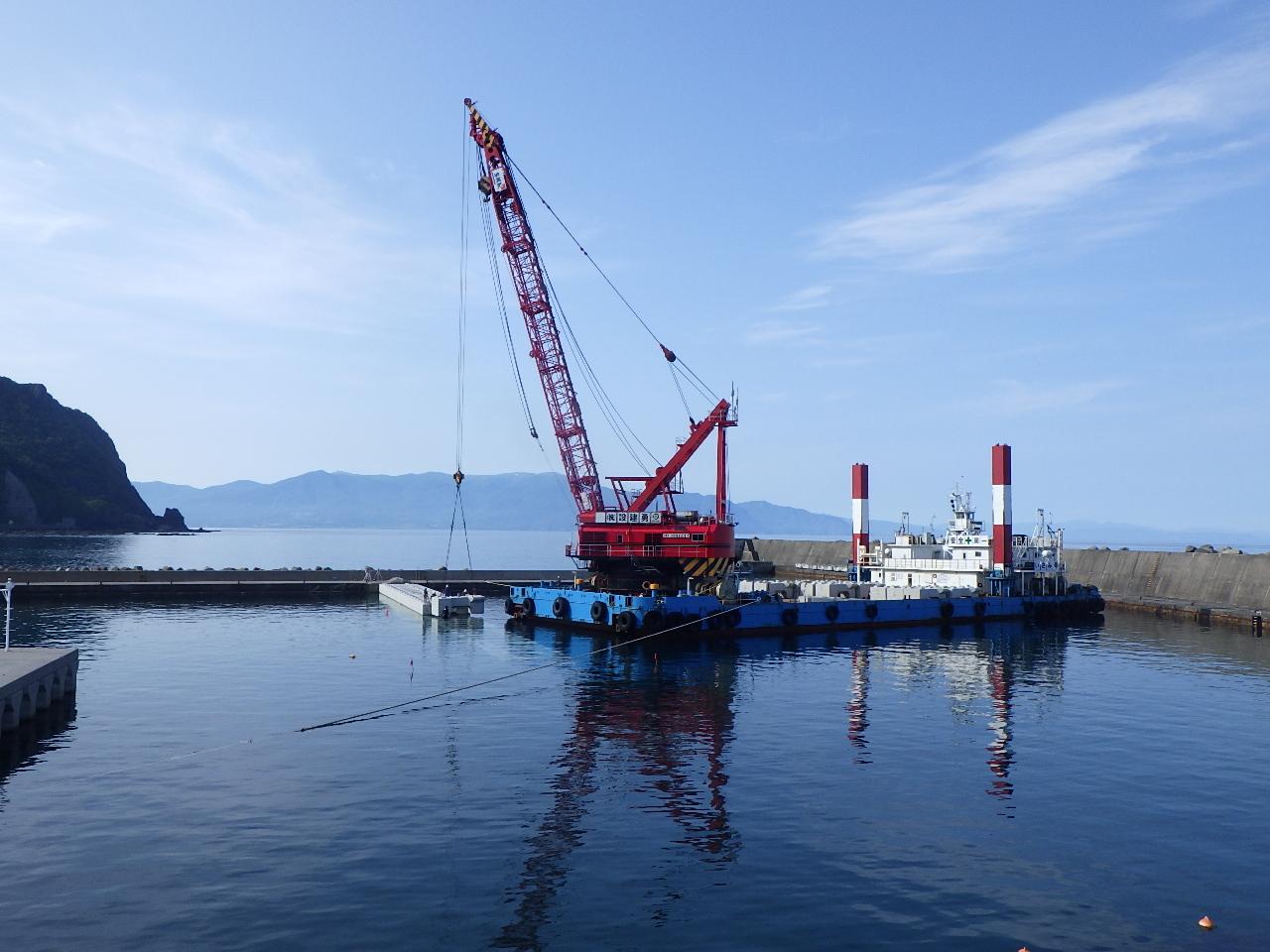 27年災第9号盃漁港災害復旧工事(小樽建設管理部)